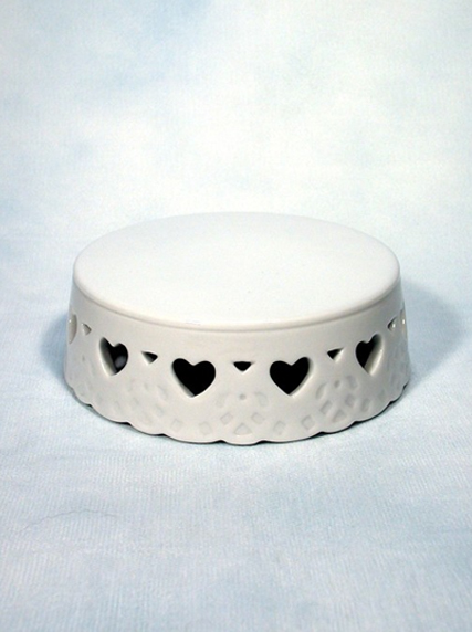 383 Hearts Porcelain Ornament Base Weddings