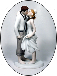 Dr and Nurse Cap Medical Stethoscopes Bride and Groom