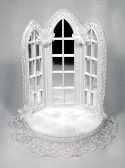 335 Chapel Windows Ornament Base Weddings