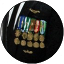 Military Medals Decorations Groom Uniform