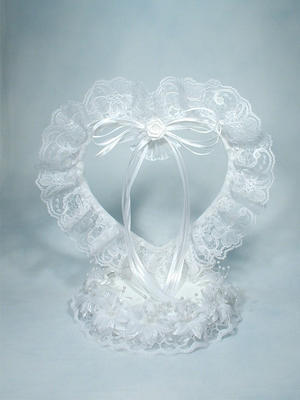 320 Ribbon Laced Ornament Base Weddings